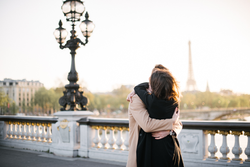 Eiffel Tower Paris, Ana and Laurent | Neža Reisner | Wedding Photography