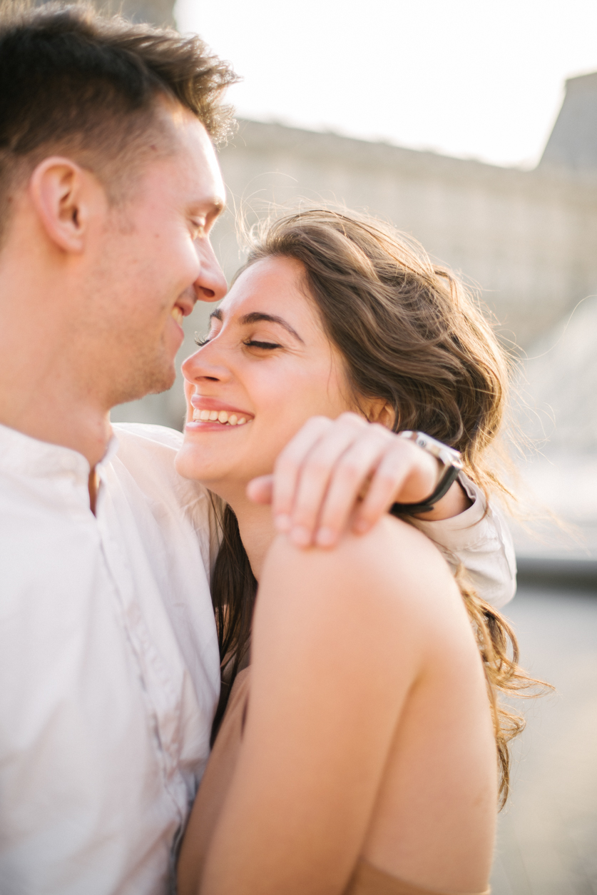 Engagement photographer Paris, Ana and Laurent | Neža Reisner | Engagement Photography