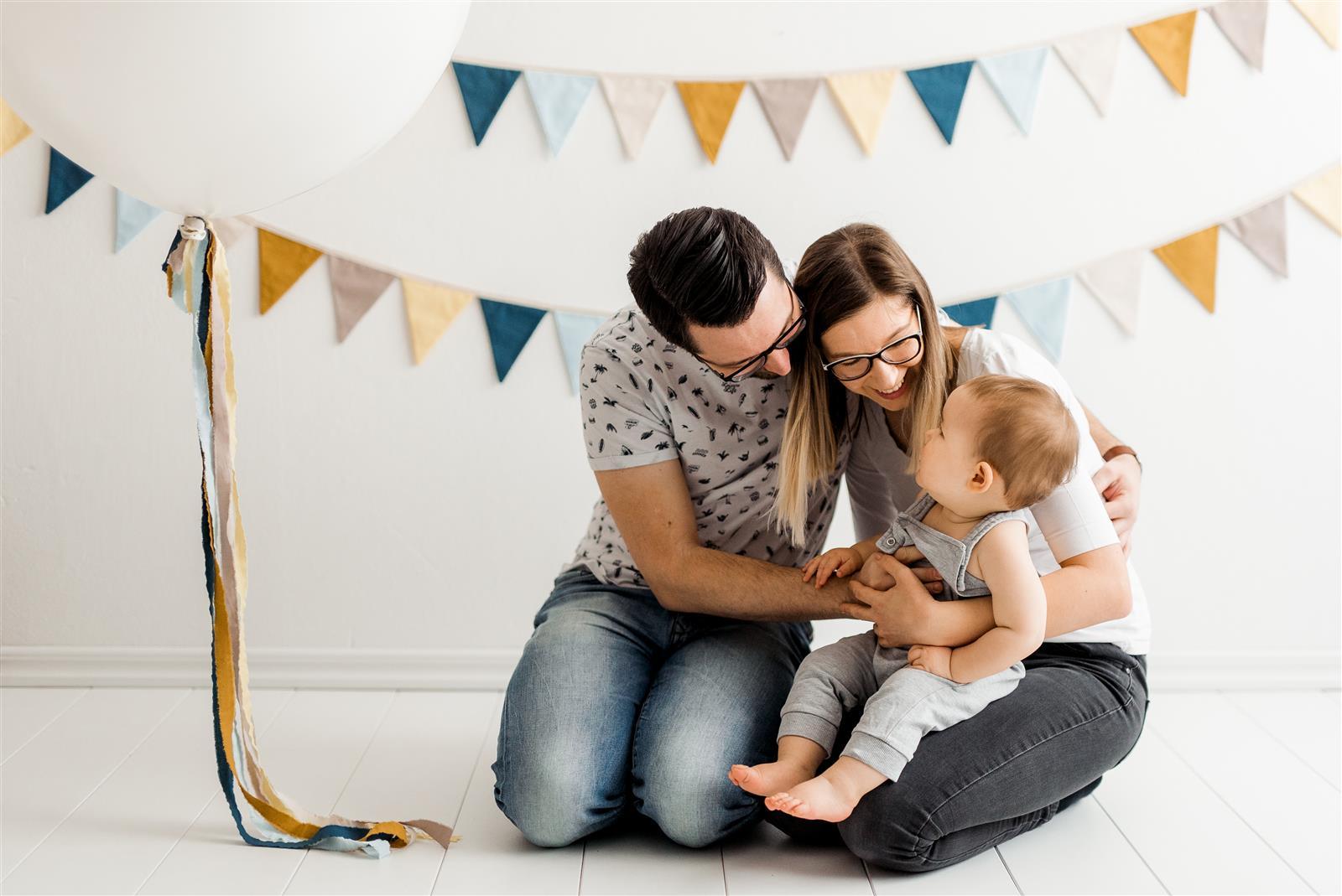 Fotografiranje za prvi rojstni dan, darilo za rojstni dan, darilo za dojenčka, darilo za 1 rojstni dan  1 druzinsko fotografiranje druzin