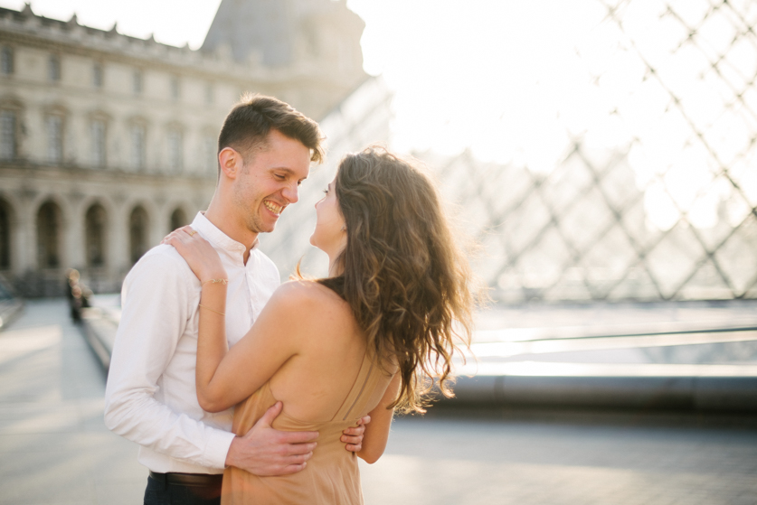 Engagemnet photography in Paris, Ana and Laurent | Neža Reisner | Wedding Photographer