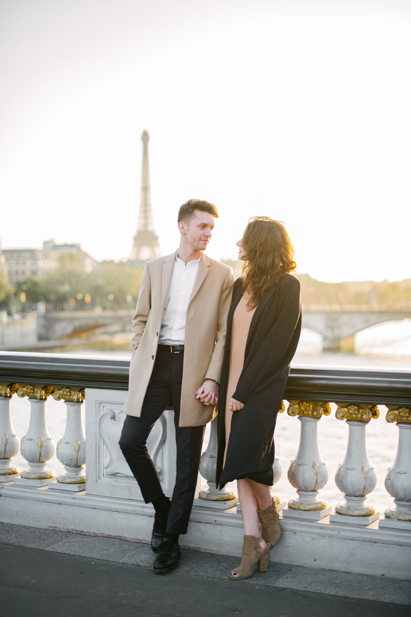 Engagement photographer Eiffel Tower, Ana and Laurent | Neža Reisner | Wedding Photography