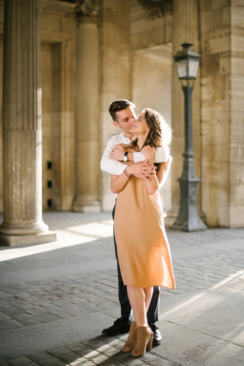 Wedding photographer in Paris Louvre, Ana and Laurent | Neža Reisner | Wedding Photography