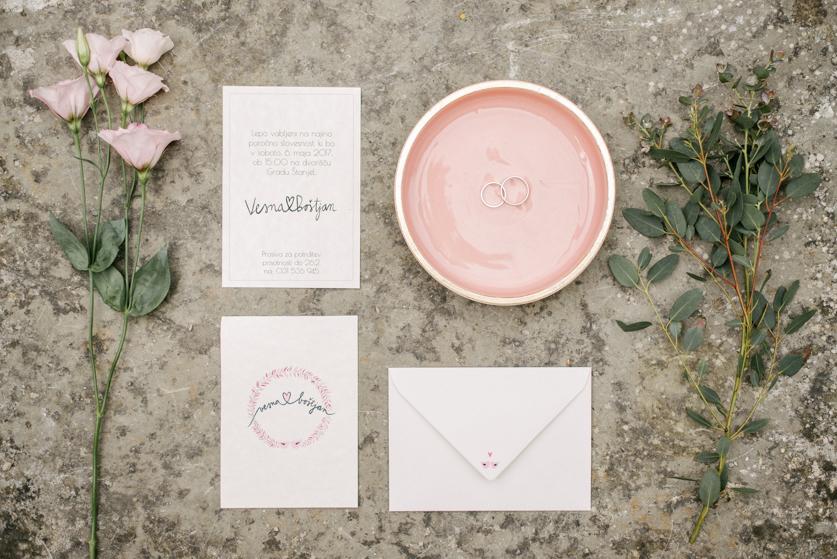 Poročni prstani - Neža Reisner | Poročni fotograf