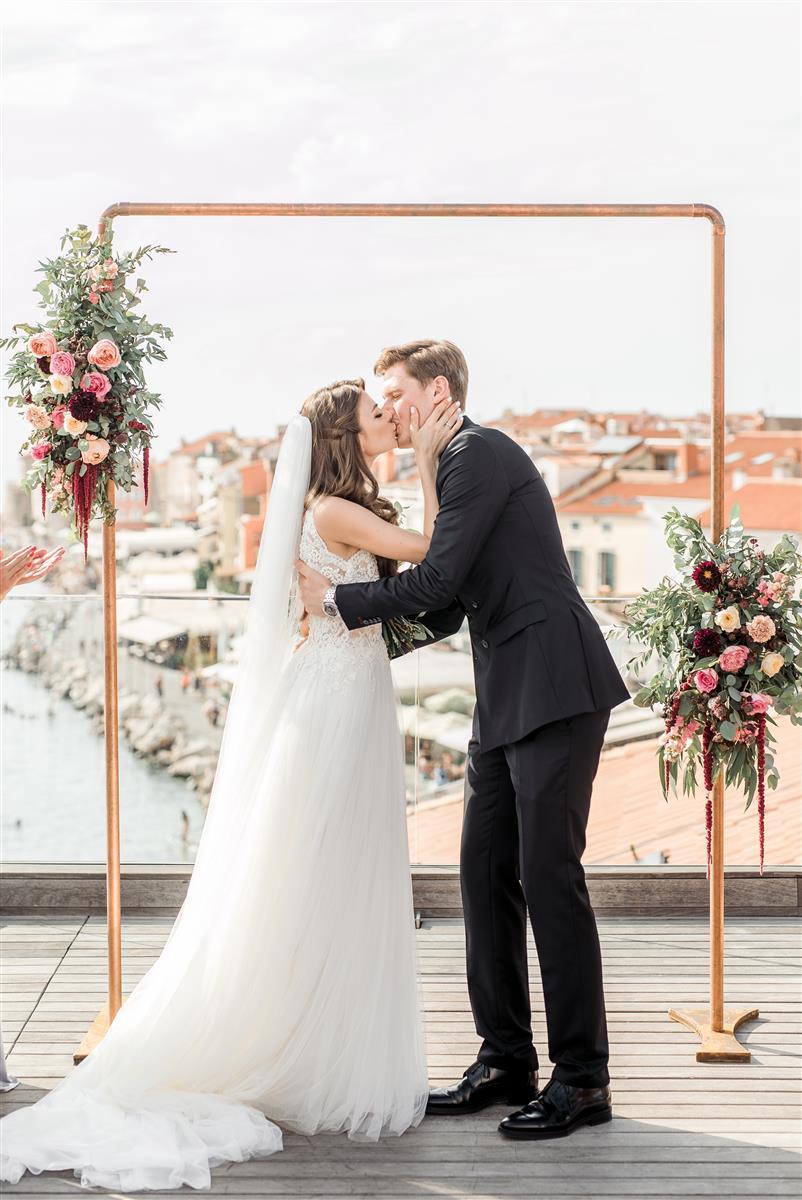 Poroka v Piranu - Sofya & Stepan