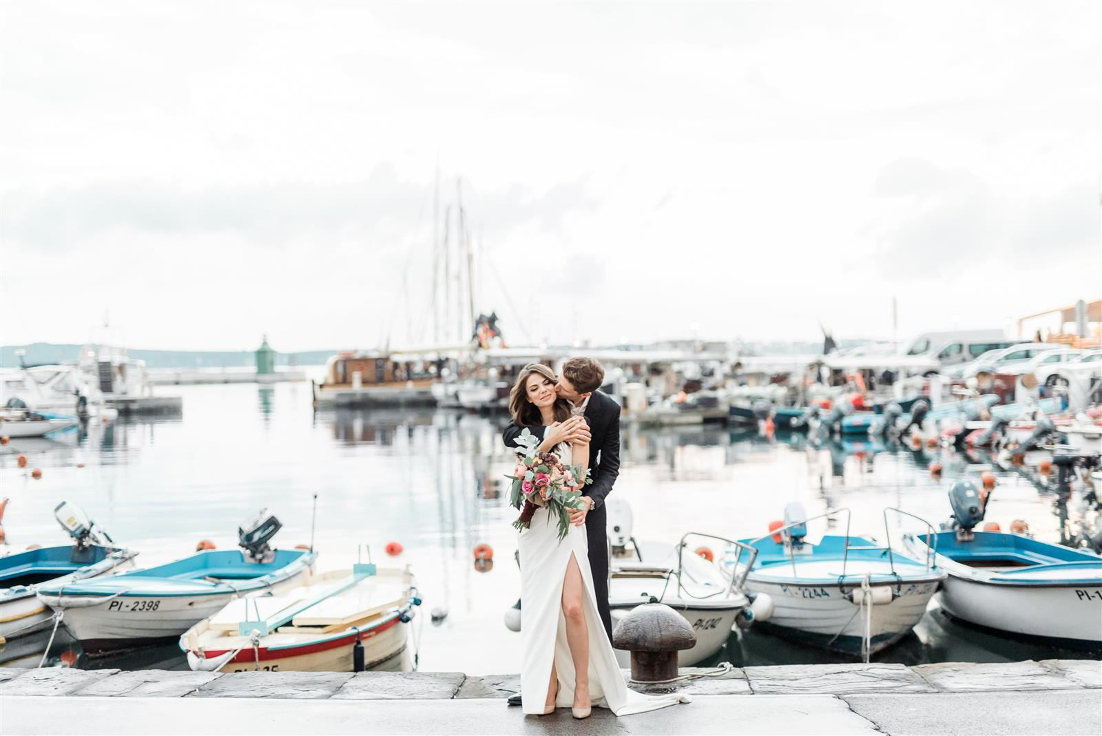 Wedding in Piran - Sofya & Stepan - Wedding photographer Piran