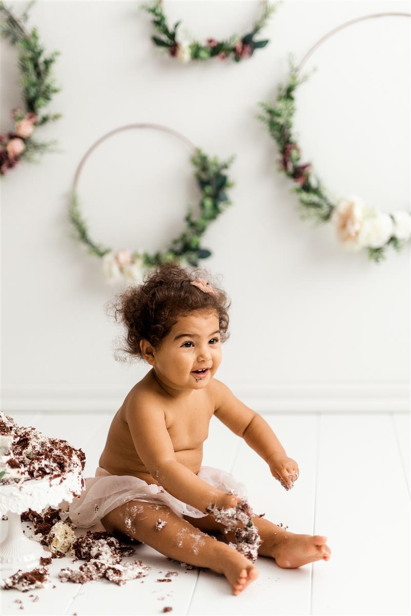 Cake Smash Fotografiranje | Neža Reisner Photography - fotografiranje otrok, slike za rojstni dan, fotografiranje s torto